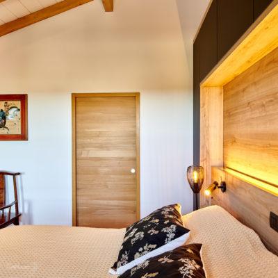 Eclairage chambre Lahonce Pays Basque