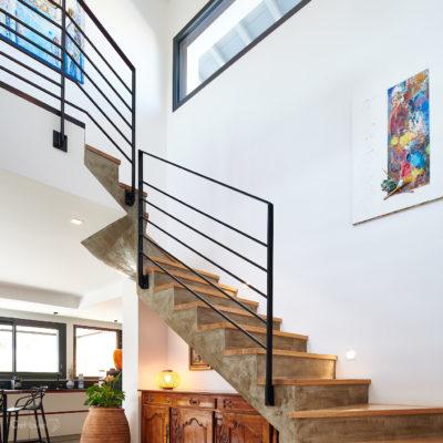 Création d'un escalier sur-mesure au Pays Basque