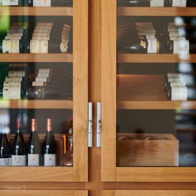 Cave à vins su-mesure