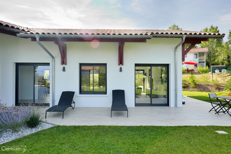Construction maison individuelle residentiel bidart cote for Agence de construction maison