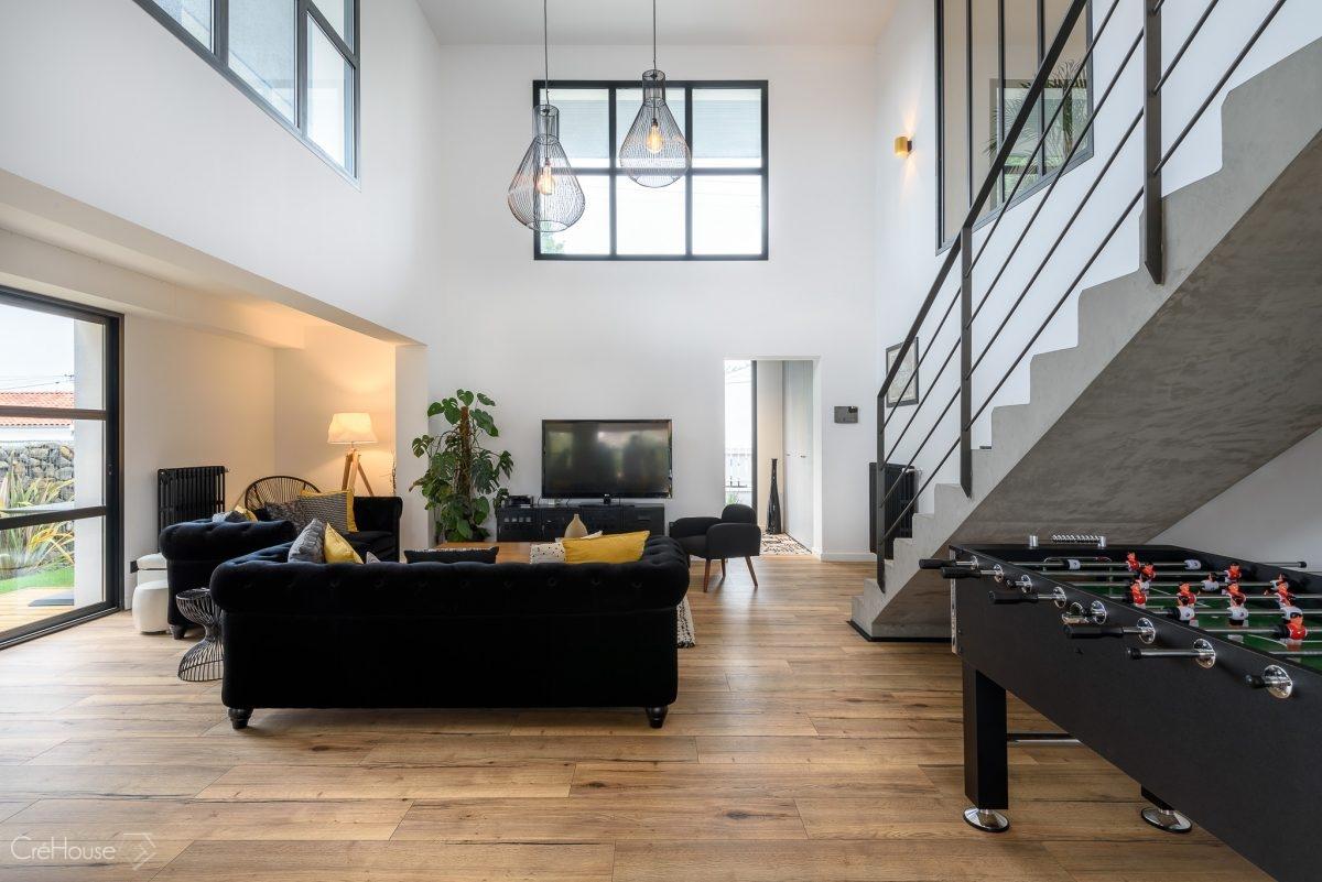Agence CréHouse - Rénovation d\'une maison individuelle à Anglet