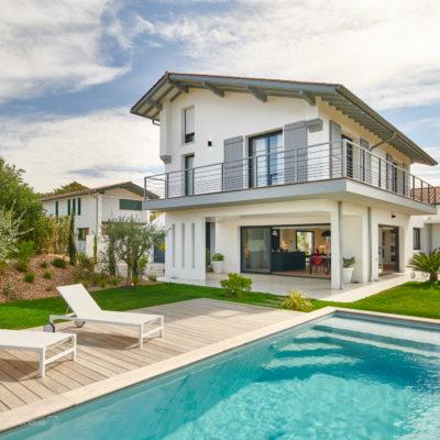 Maison piscine Bidart