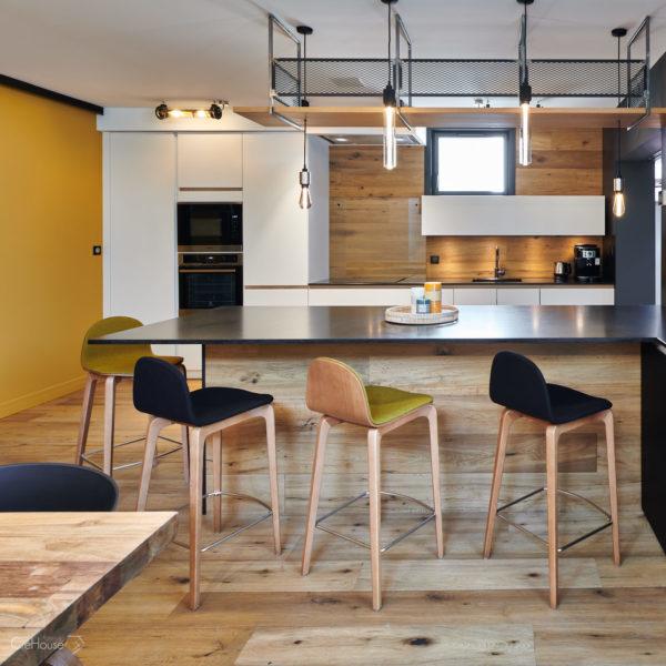 Rénovation appartement Biarritz cuisine 2