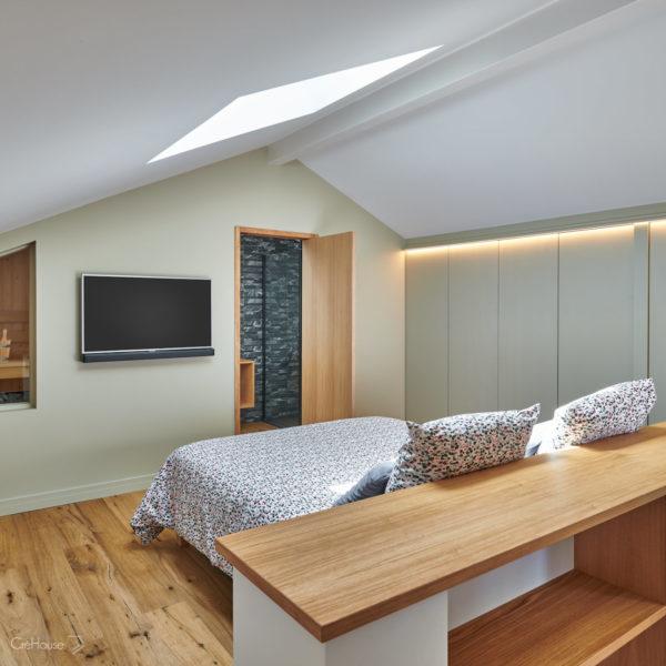 Rénovation appartement Biarritz chambre