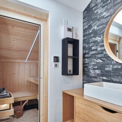 Rénovation appartement Biarritz salle de bain
