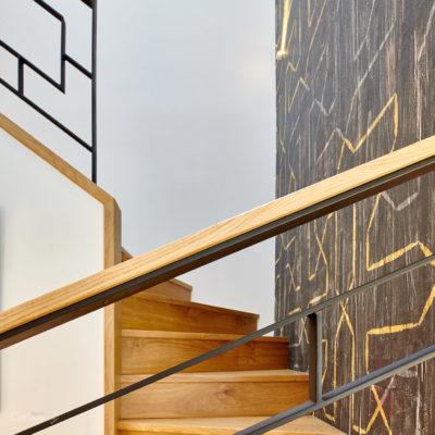 Rénovation d'un escalier à Lahonce au Pays Basque