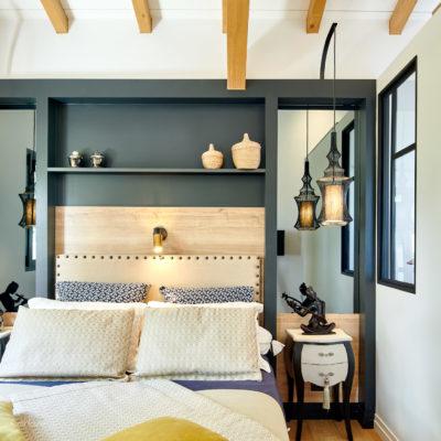 Rénovation d'une chambre à Lahonce au Pays Basque