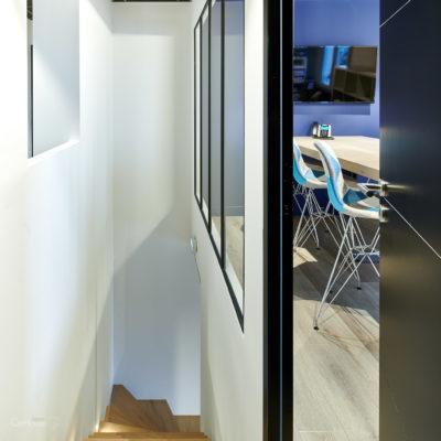 Rénovation villa Bayonne en bureaux 10