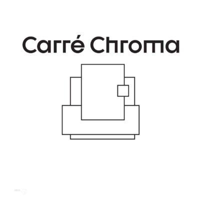 Logo Carré Chroma - agence de design intérieur au Pays Basque
