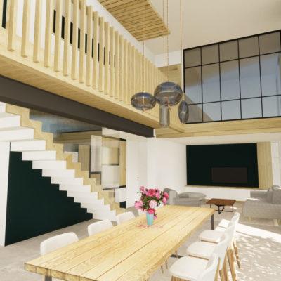 Projet de rénovation d'une maison à Irouleguy au Pays Basque