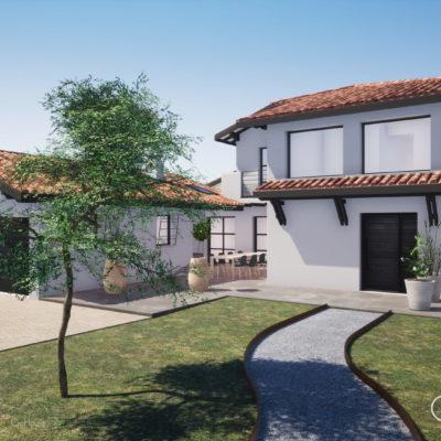 Projet de rénovation d'une maison à Biarritz au Pays Basque
