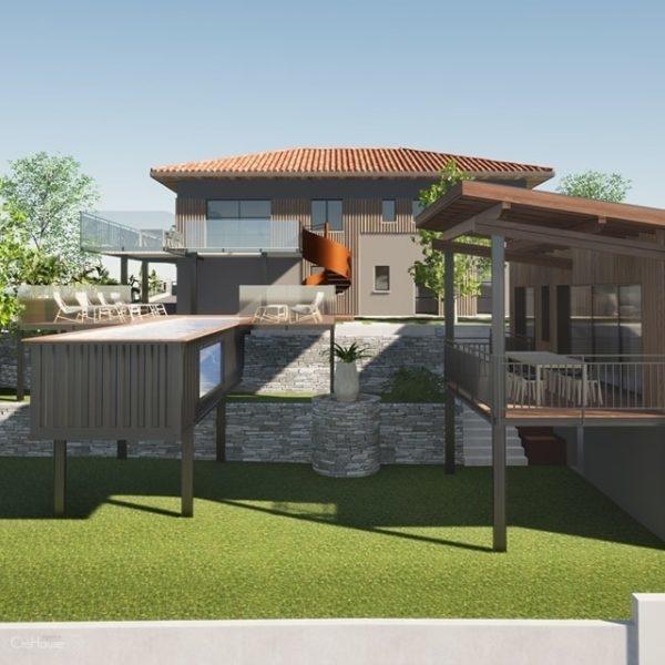 Avant-projet de rénovation d'une maison à Anglet au Pays Basque