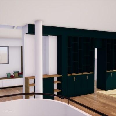 Aménagement intérieur d'une maison à Bayonne au Pays Basque
