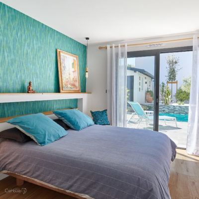 Création d'une maison avec piscine et pool-house à Bayonne