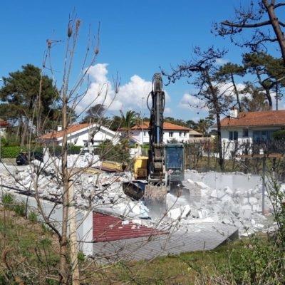 Création d'une maison avec ppiscine à Anglet Chiberta au Pays Basque